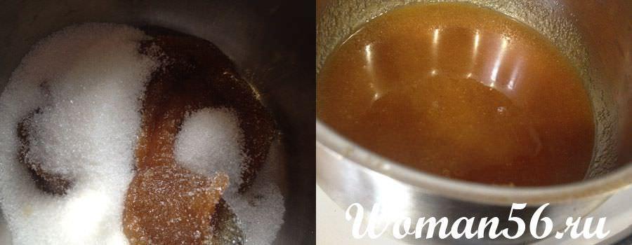 Как сделать сироп без меда для чак-чак