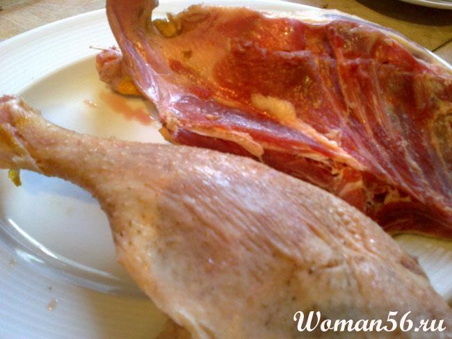Как приготовить курник из мяса