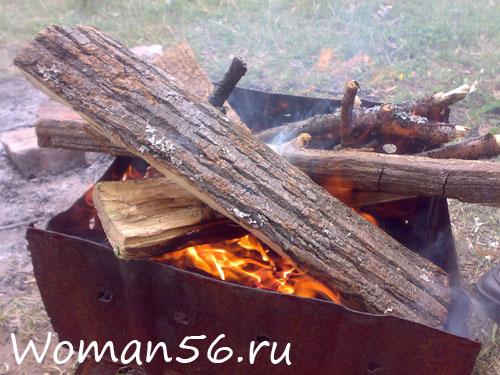 рецепт приготовления ухи на костре из щуки