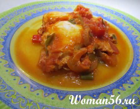Блюда из творога с мясом и грибами