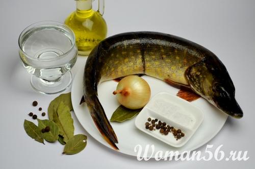 Щука маринованная в домашних условиях - Рецепт с фото