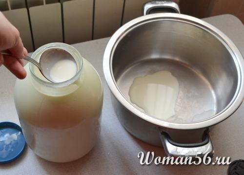 Как делают сливки из молока в домашних условиях 90