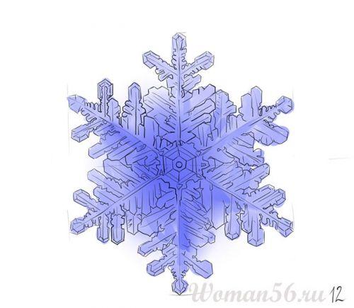 Сделать снежинку оригинальную своими руками