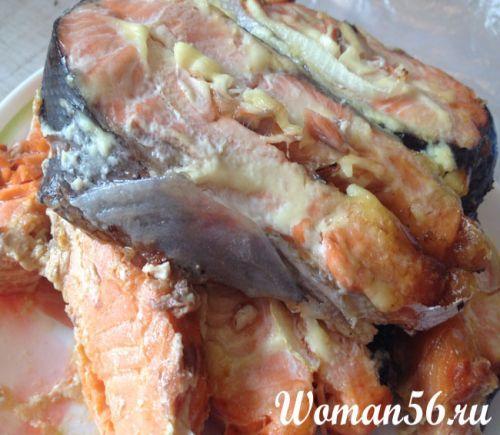 красная рыба сочная в духовке рецепты
