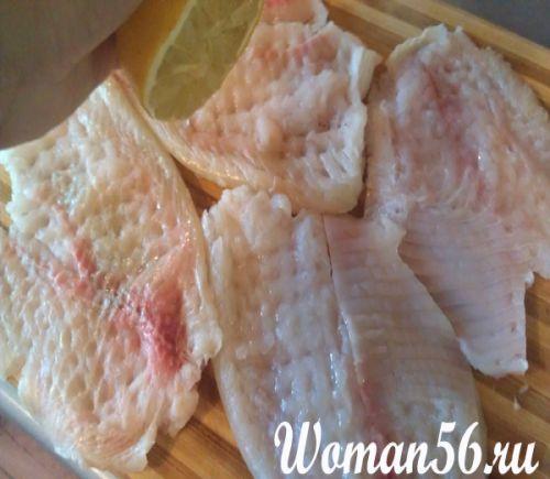 Приготовить с филе скумбрии