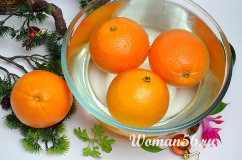 апельсины для мармелада