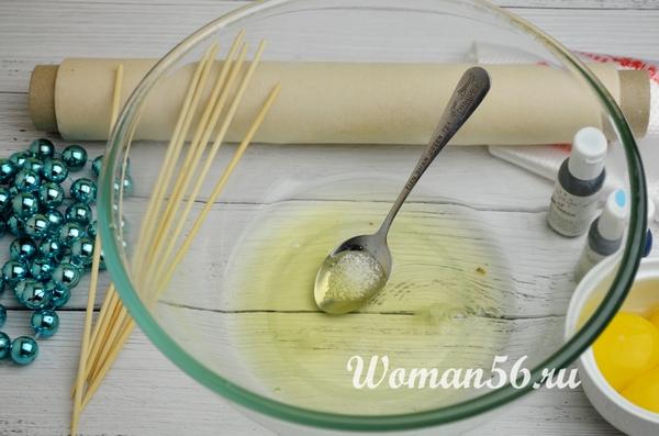 белки с лимонной кислотой для безе