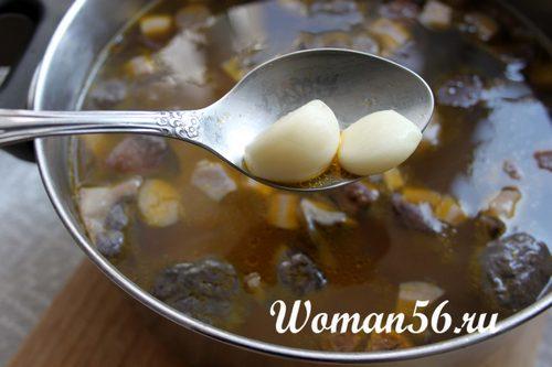 суп из свежих подберезовиков рецепт с фото