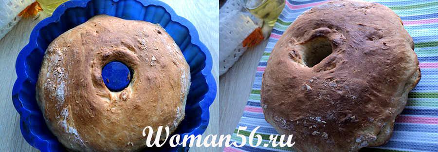 выпечка хлеба в формах