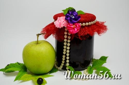 Джем из черноплодной рябины с яблоками - рецепт на зиму