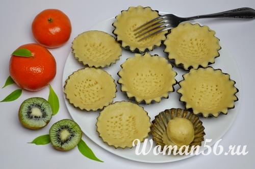 формочки для пирожных корзиночек
