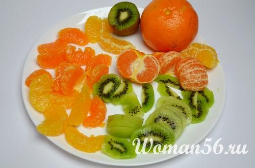 фрукты для пирожных с белковым кремом