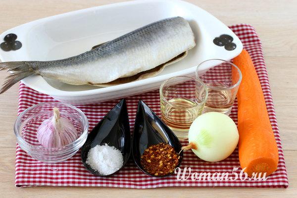ингредиенты рыбного хе