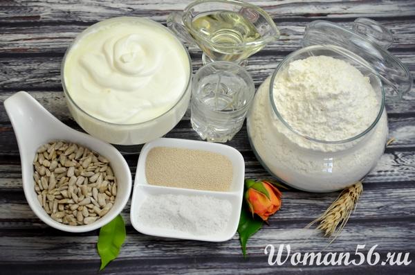 ингредиенты сметанного хлеба
