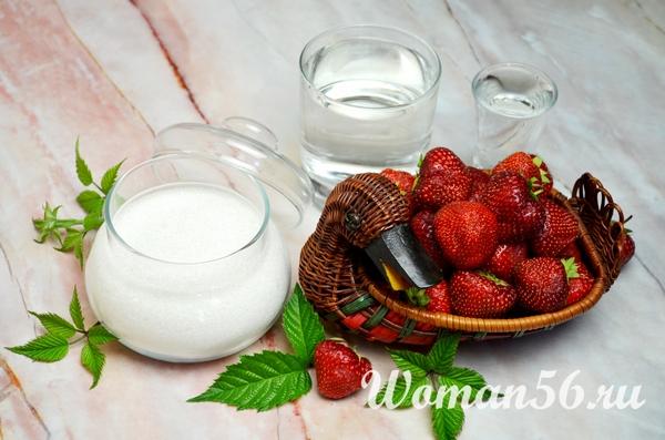 ингредиенты клубничного ликера