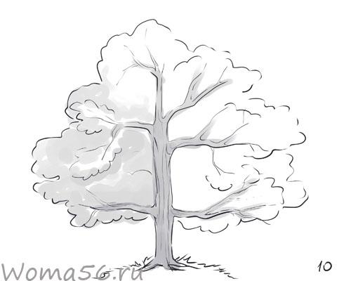 Как нарисовать дерево
