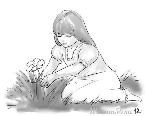 Как нарисовать девочку