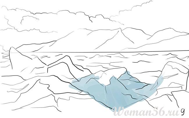 Как нарисовать лед