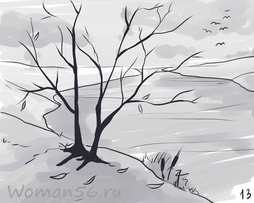 Картинки дерево осень