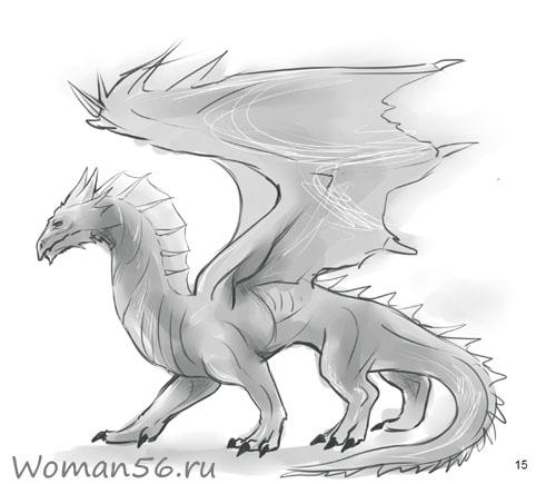 Как рисовать дракона