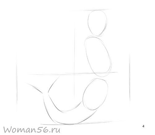 Как рисовать русалку