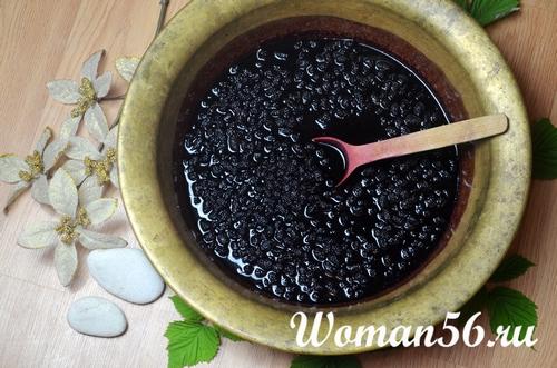 как варить варенье из шелковицы