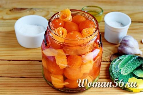 кипяток для помидоров в банке