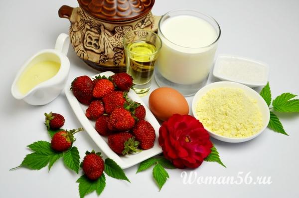 ингредиенты кукурузных оладий