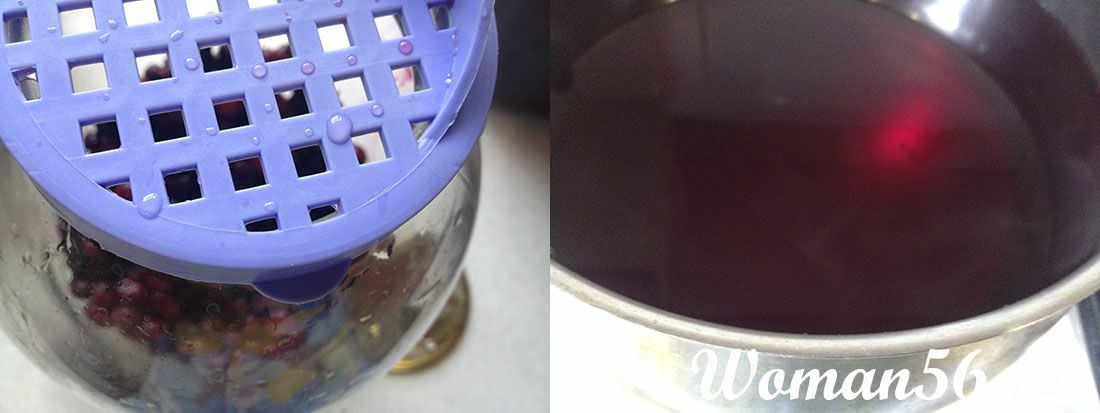 рецепт компота вишня смородина