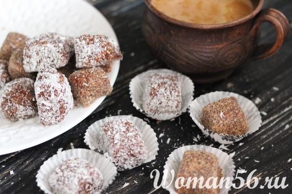 Рецепт конфет из фиников
