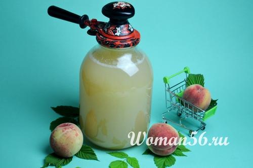 персиковый сок консервация