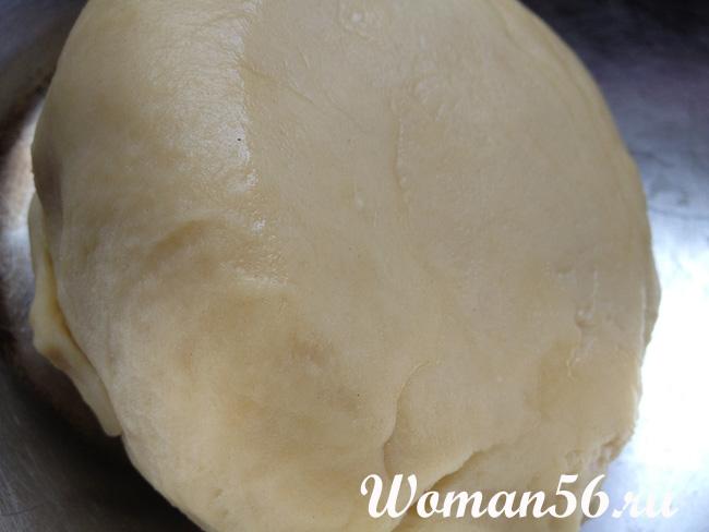 тесто для курника на кефире и маргарине рецепт