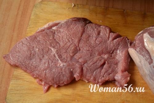 кусок говядины для гриля
