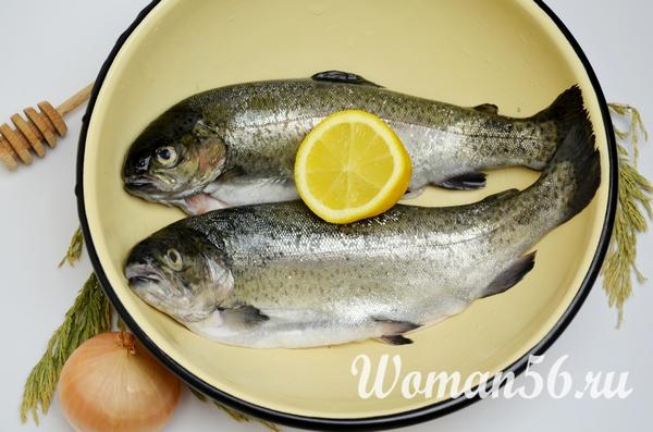 овощи для речной форели