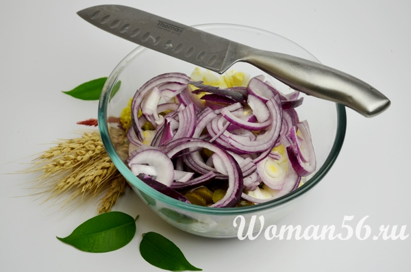 лук для салата из маша