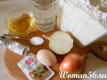 ингредиенты пирога с ревенем