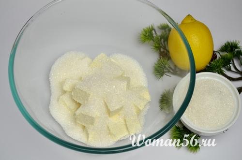 маргарин с сахаром для теста