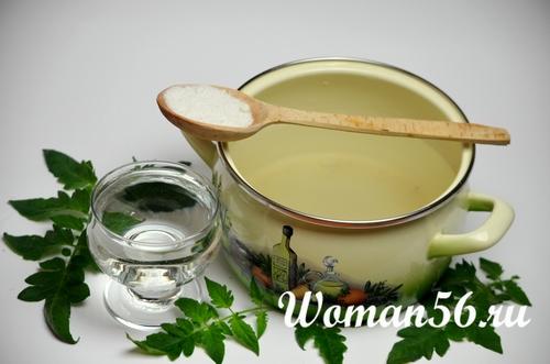 маринад для салата из помидор и лука