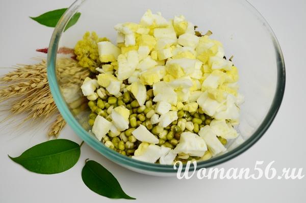 яйца для салата из маша