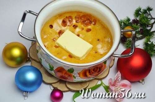 сироп с имбирем и маслом