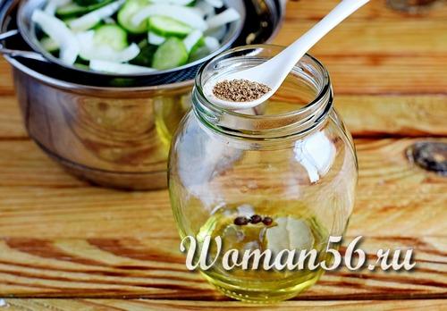 масло для салата на зиму