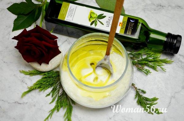 йогурт с маслом
