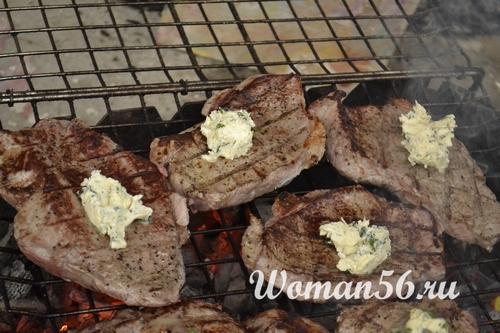 масло для мяса