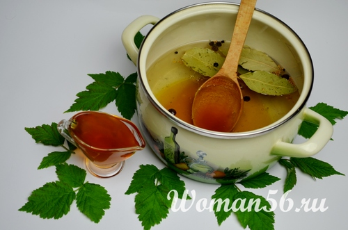 рецепт маринада с медом для перца