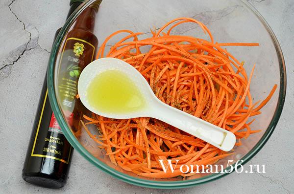 масло для черемши с морковью