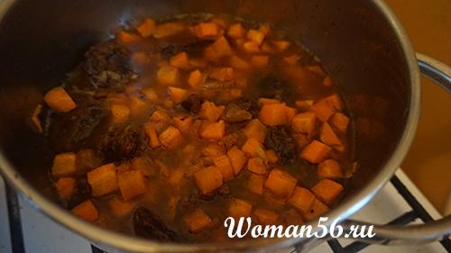 морковь для плова из лосятины