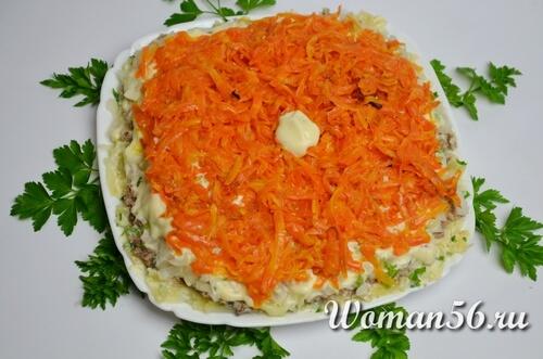 морковь для салата мимоза