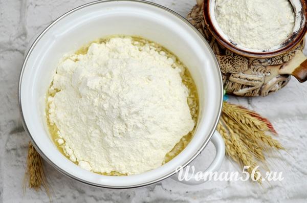 разведенная горчица для хлеба