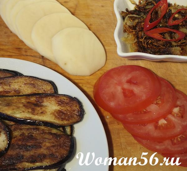 Мусака - рецепт с баклажанами