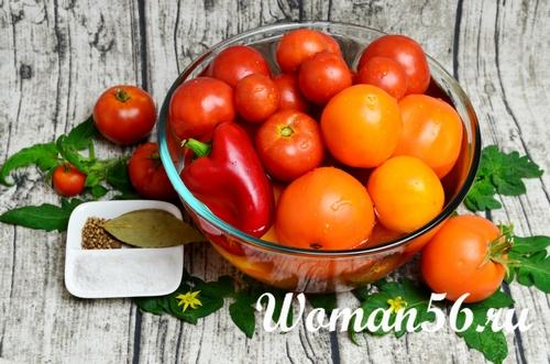 мытые помидоры для сока